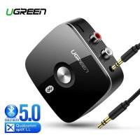 UGREEN Bluetooth Receiver V5.0 APTX 2RCA 3.5mm Aux Wireless Adapter