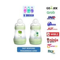 Botol Susu MAM Anti Colic Bottle 0+ Months 160ml - Green/Hijau