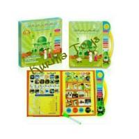 Mainan Anak Edukasi Playpad E book Buku Pintar 3 Bahasa