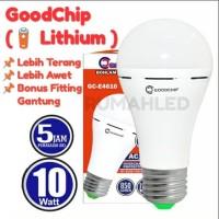 LED Emergency Goodchip 10w (Lampu Ajaib Sentuh Good Chip 10 Watt)