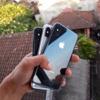 iphone X 64gb Grey/Silver Like New Fullset Ex Resmi Apple ZP/A