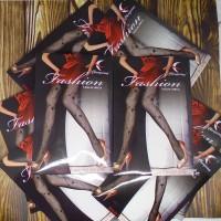 Stocking Celana Leging Pantyhose Wanita Model Jaring Hitam
