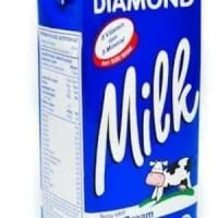 Susu UHT Diamonnd Full cream 1 liter