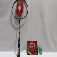 Raket Badminton Karakal Power Drive Bonus Senar dan Grip