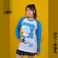 Long Sleeve T-Shirt / Kaos Sakata Gintoki Chibi Anime Gintama