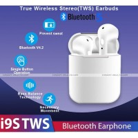 HBQ i9S TWS Bluetooth Earphone Stereo Airpods Touch Control BT 5.0