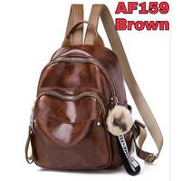 tas ransel wanita Backpack punggung import Sekolah Kuliah Kerja 159