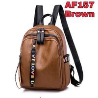 tas ransel wanita Backpack punggung import Sekolah Kuliah Kerja 157