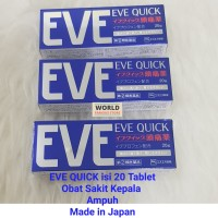 Eve Quick 20 Tablets