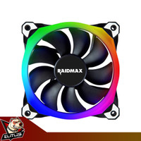 Kipas casing Raidmax NV-R120B RGB Fan Case 120mm
