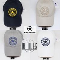 topi baseball CONVERSE ALL STAR logo embroidered 4 warna ( FREE BOX
