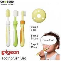 Pigeon Toothbrush / Sikat gigi pigeon / Sikat lidah bayi