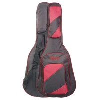 Tas Softcase Gitar Jumbo Gigbag Busa Tebal Guitar Eison EBG-066 Merah