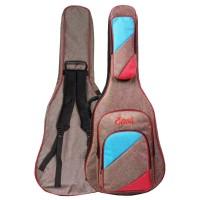 Tas Softcase Gitar Jumbo Gigbag Busa Tebal Guitar Eison EBG-066 Coklat