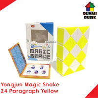 Rubik Snake Yongjun Magic 24 Paragraph Besar YELLOW / Kode YJ8380YL