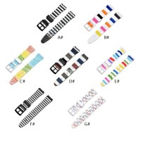 Tali jam Printed Silicone sport strap band SWATCH 19MM