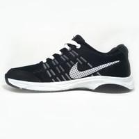 Sepatu Pria Sport Olah Raga Warna Hitam