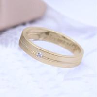 Cincin Kawin/Tunangan Emas Kuning EP0057