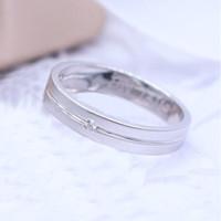 Cincin Kawin/Tunangan Emas Putih EP0056