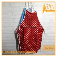 Celemek Bahan Cotton