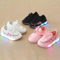 babies SEPATU ANAK LED SAKURA 2018 sneakers anak perempuan bayi cewek