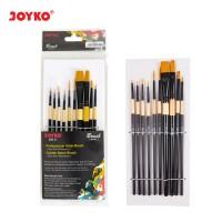Brush Kuas Cat Air Cat Minyak Lukis Acrylic Joyko BR-9