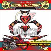 Striping full body stiker motor YAMAHA JUPITER MX MU