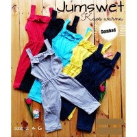 Jumpsuit Tanktop Baju Kodok Baby Anak