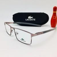 free lensa minus anti radiasi - kacamata lacoste 2195 silver