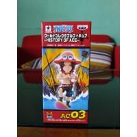 WCF Ace ac03 History of ace Action figure one piece Portgas D Ace