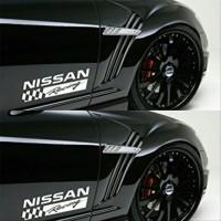 stiker mobil sticker nissan racing
