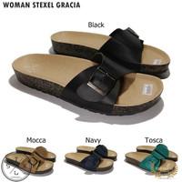 STEXEL GRACIA Sandal Wanita Casual Handmade Premium Original