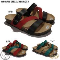 STEXEL HERMOSA Sandal Wanita Casual Handmade Premium Original