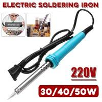 EMN 220V 30 / 40 / 50W Solder Besi Elektrik Temperatur Suhu 500 ℃