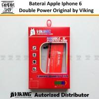 Baterai VIKING Double Power Original Apple Iphone 6 / 6G Batre Batrai