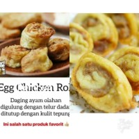 NUGET frozen ala BENTO egg chicken roll isi 10pcs