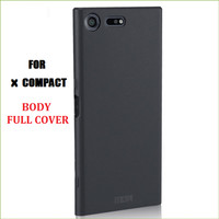 X Compact Sony Xperia Case Casing Cover Slim Black