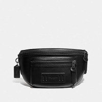 Coach Terrain Waist Bag - BLACK Color ORIGINAL