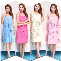 Baju Handuk Wearable Towel Handuk Kimono Mutifunction Clothing
