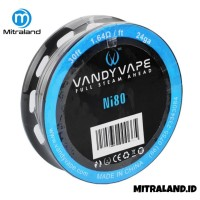 Vandy Vape Wire Pure Nickel seri Ni80 24 GA 30 Feet 1.64 Ohm [9.15 Met