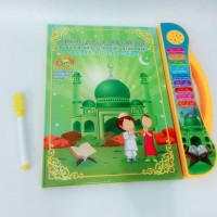 Mainan anak Edukasi Playpad E-book Buku Pintar Muslim 3 Bhs