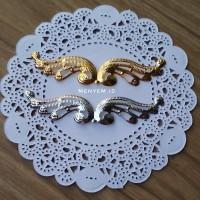 lempeng sayap burung gold silver