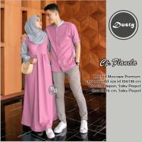 Baju Busana Muslim Gamis Couple Pria Wanita