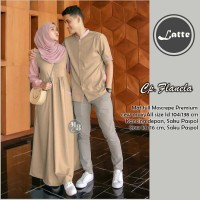 Baju Busana Muslim Gamis Couple Pria Wanita Kode H001