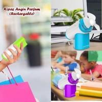 Kipas Angin Duduk Genggam Hand Handy Mini Desk Fan Parf EK4