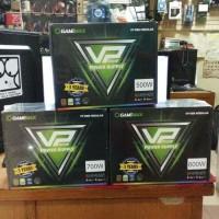 Gamemax VP600 RGB Modular - VPower 600Watt 80+ Certified RGB PSU