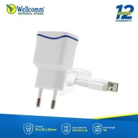 Travel Charger wellcomm 2.1A