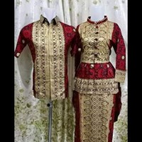 Batik couple songket