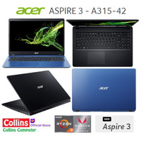 LAPTOP GAMING ACER A315-41- RYZEN 3-3200U|4GB|1TB|Radeon Vega 3|W10