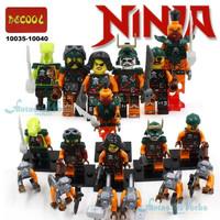 Brick Ninjago Minifigure Set Ninja Go not Lego